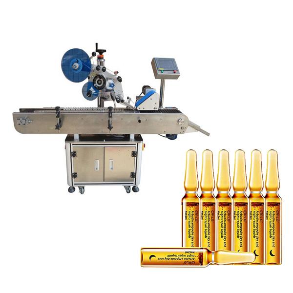 Ampulla címkéző gép
