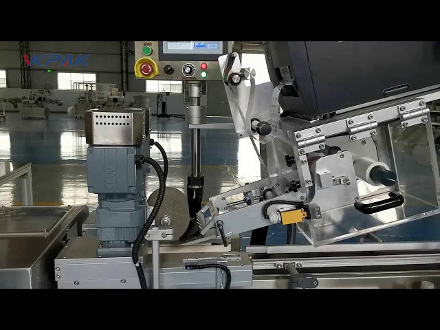 Automatikus C alakú kagylócímkéző gép