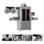 Automatikus folyékony vízlé teaital PVC PVC hüvelyes zsugorító címkéző gép