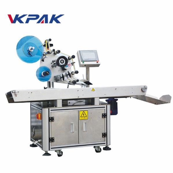 Automata felső felületi sík ragasztó lapító címkéző gép
