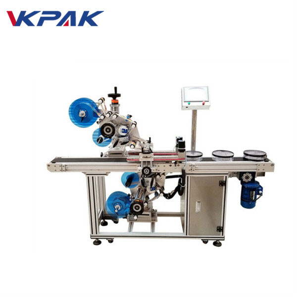 Automatikus felső és alsó öntapadó címkéző gép