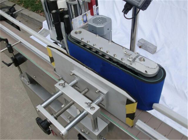 Automatikus függőleges kerek palack címkéző gép részletei