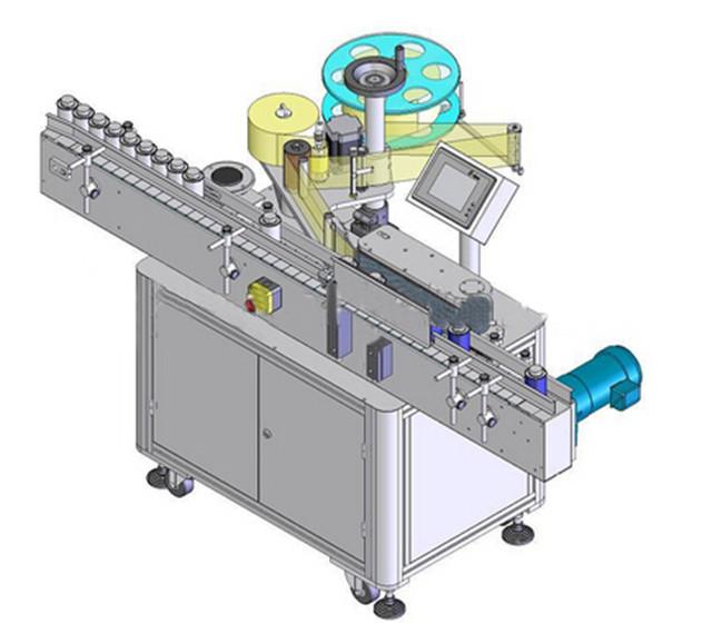 Automatikus függőleges kerek palack címkéző gép