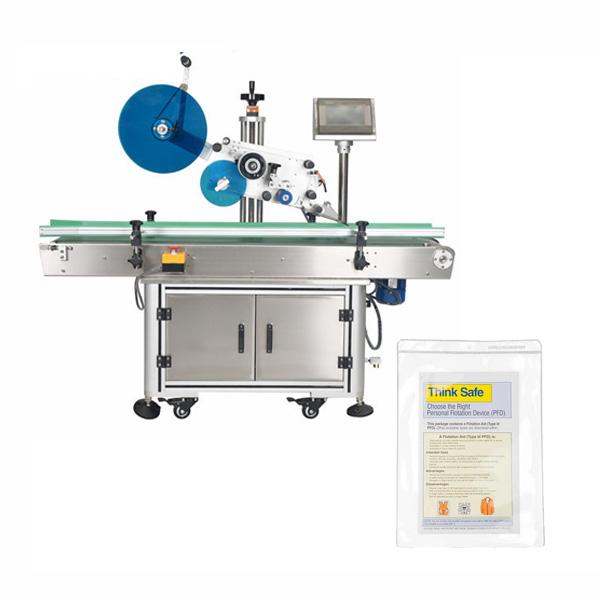Táska címkéző gép