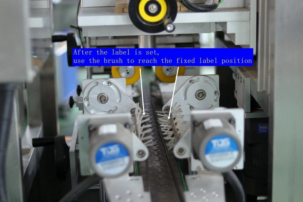 Palacknyak-kupak tömítés automatikus zsugorodó hüvely címkéző gép
