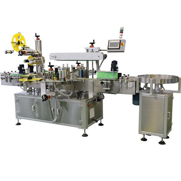 Palack felső és test többoldalas címkéző gép