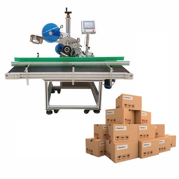 Karton címkéző gép