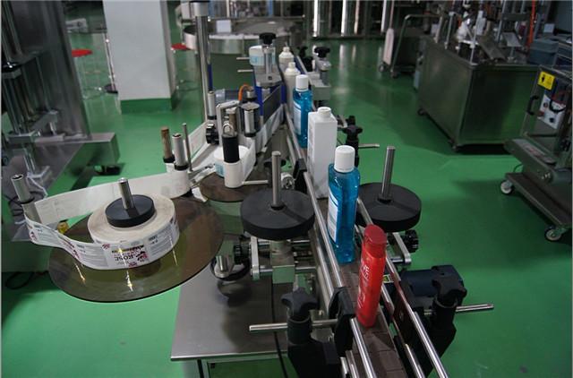 A függőleges kerek palackok címkéző gépének konfigurálása