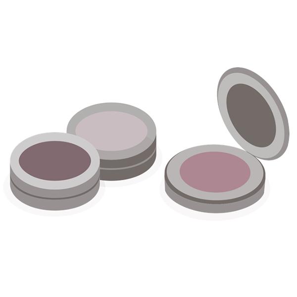 Kompakt kozmetikai címkék