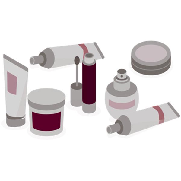 Kozmetikai termékek címkézésére szolgáló berendezések