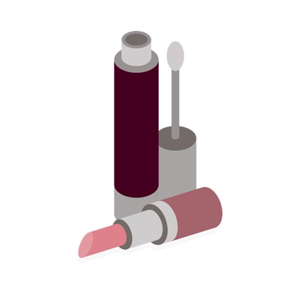 Henger kozmetikai palack címkék