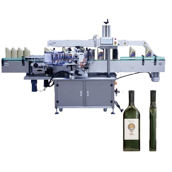 Lapos üveg címkéző gép