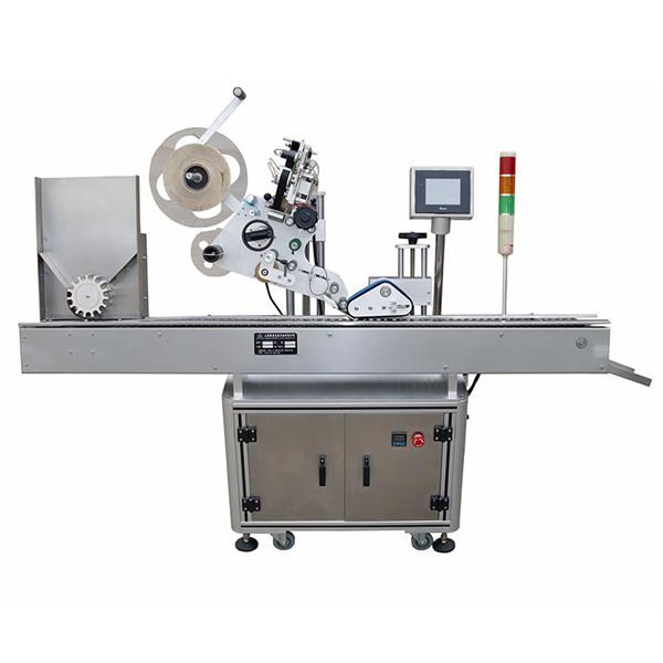 Teljesen automatikus vízszintes fecskendő gyógyszerek feliratozó gép