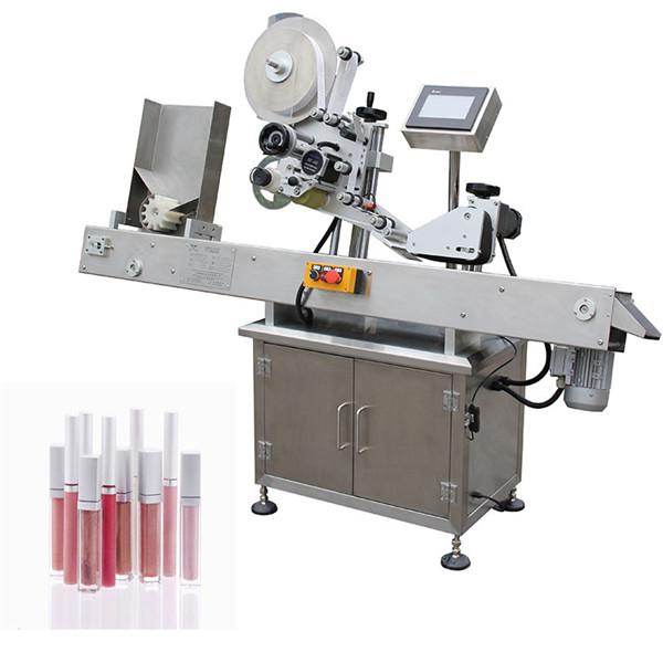 Vízszintes automatikus gyógyszeripari kispalack-címkéző gépek