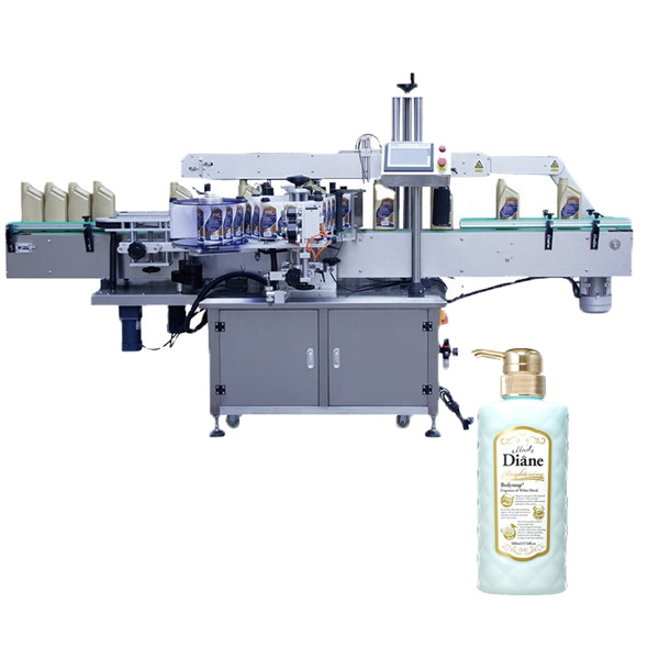 Ovális palack címkéző gép