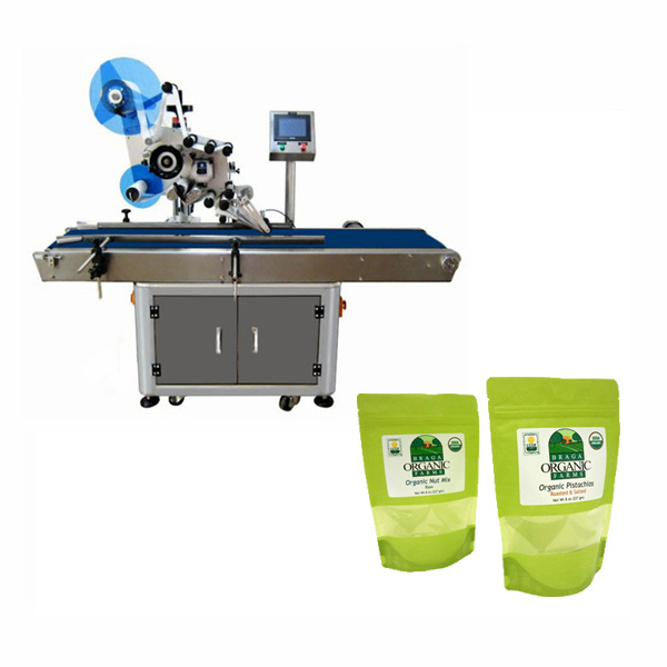 Táska-címkéző gép