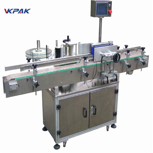 Professzionális gyártó ipari kerek tégely címkéző gép