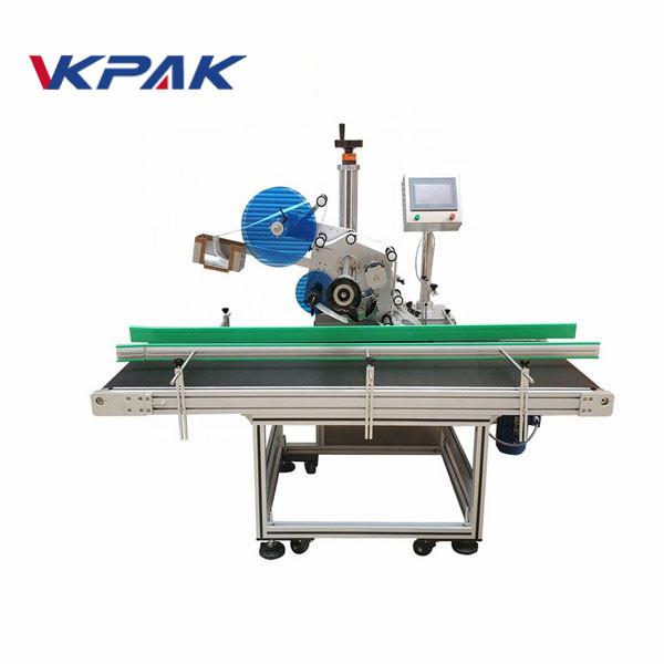 Kaparókártyás papír automatikus felső címkéző gép