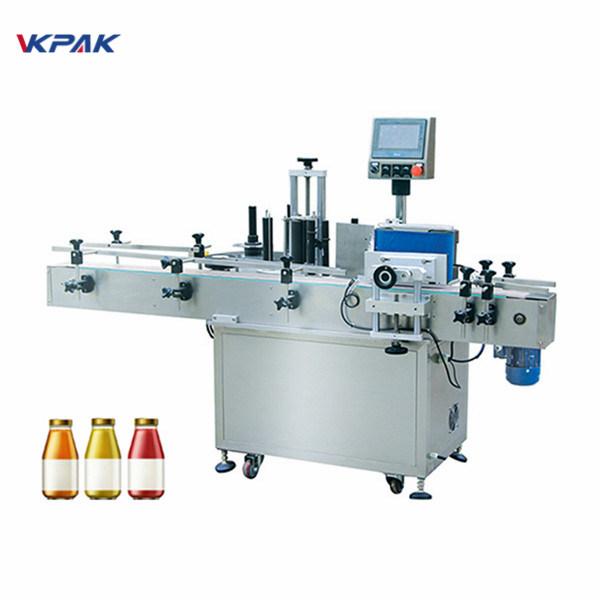 Öntapadó matrica lapos kartondoboz címkéző gép