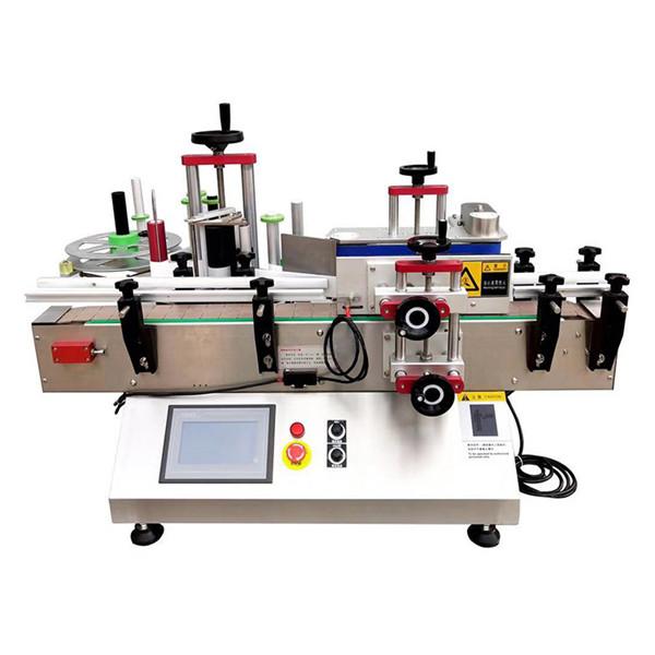 Az asztali festék a palackcímkéző gép köré tekerhető