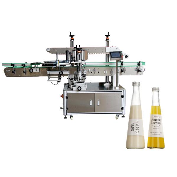 Kúpos palack címkéző gép